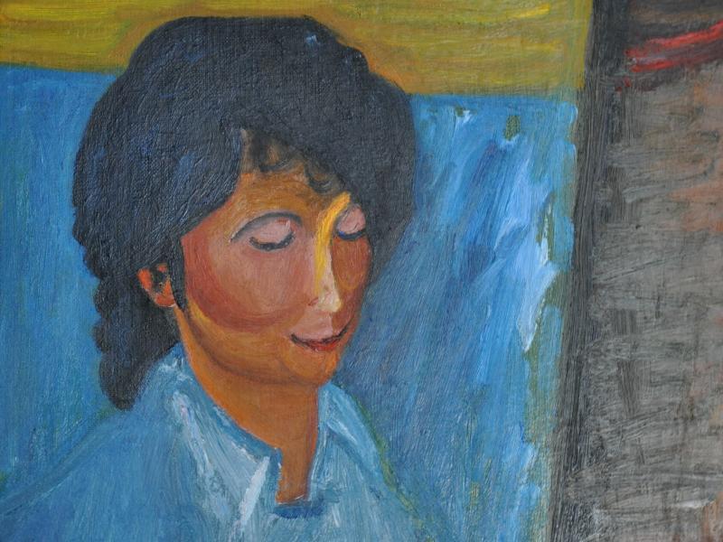 37. Tadeusz Ilnicki, Portret kobiety, ol., pł., wł. pryw., fot. JWS