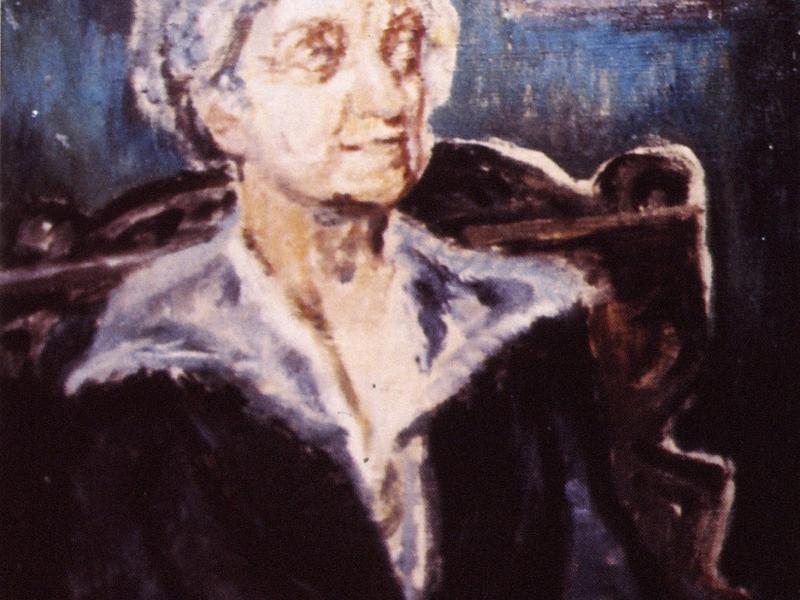 Kazimierz Pacewicz, Portret Zofii, ol., pł., fot., arch., J.W. Sienkiewicz