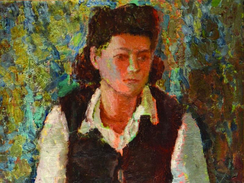 Stanisław Westwalewicz, Portret, ol. pł., wł. pryw., po 1945, fot., Piotr Drewniak