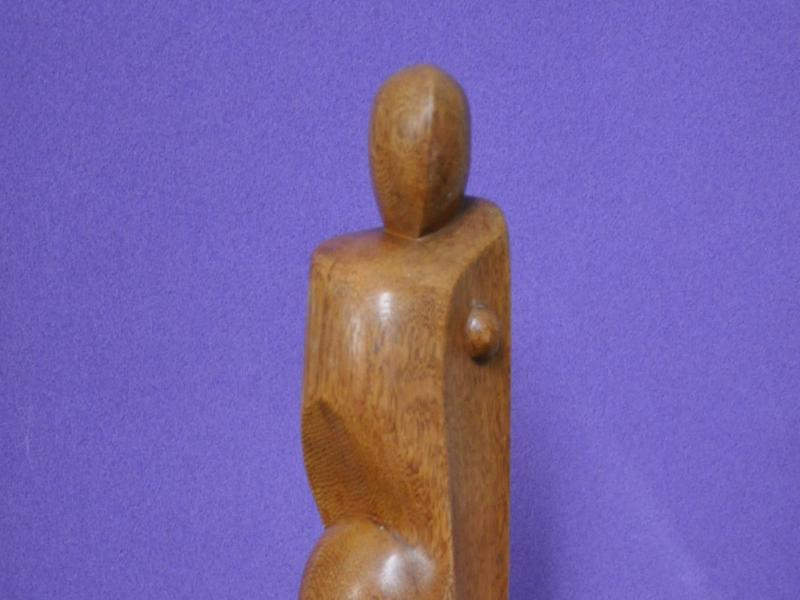 Albin Ossowski, Kompozycja, drewno, ok. 1950, fot. J.W. Sienkiewicz