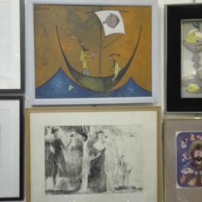 Oryginały prac wypożyczone z prywatnych kolekcji