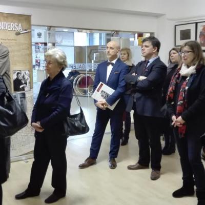 Otwarcie wystawy Artyści Andersa w POSK - goście