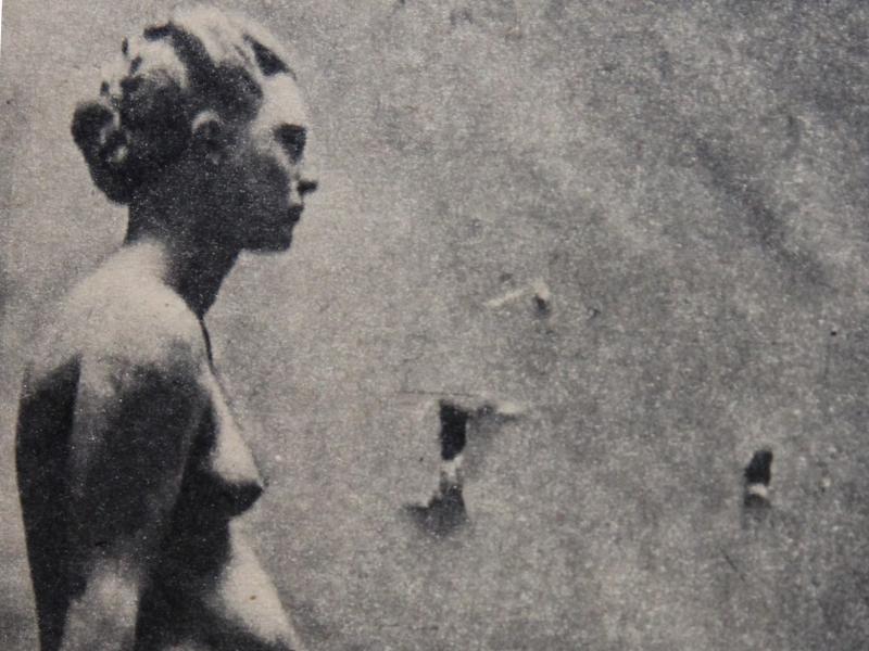 Adolf Glett, Akt kobiecy, Parada 1945, nr 13, s. 9, arch. J.W. Sienkiewicz