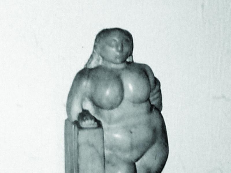 Jan Marian Kościałkowski, Rzeźba kobiety, marmur kararyjski fot. J.W. Sienkiewicz