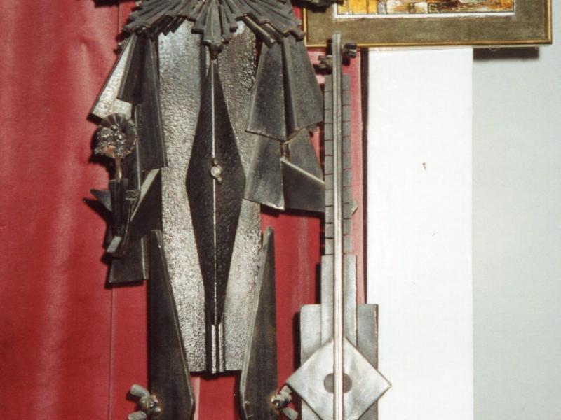 18. J. Stocki, stal spawana, Studio M. Zuławskiej, 2003